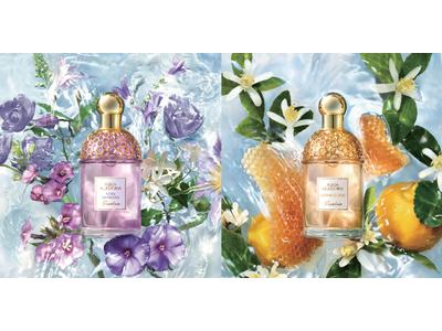 ゲラン、人気フレグランスコレクション〈アクア アレゴリア〉から2つの新しい香りが登場!
