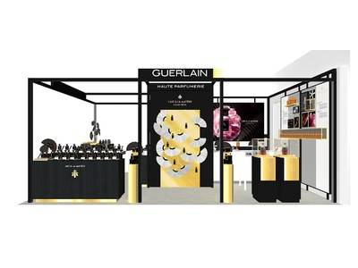 年に一度の香りの祭典「三越伊勢丹サロン ド パルファン2021」に、アートギャラリーのようなゲランの「オート パフューマリー」の世界が登場。