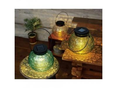ほんわりとした灯が心に染みるLEDガラスランタン、ヴィレヴァン通販に登場!