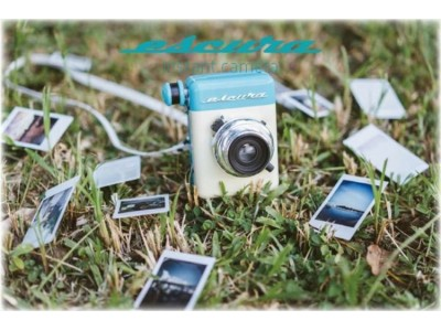 【Escura instant camera 60s】60年代風ヴィンテージアナログカメラがヴィレヴァンオンラインに新登場!