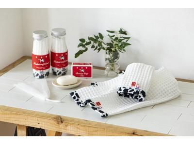 【牛乳石鹸×今治タオル】あのお馴染みの赤箱そのまま!牛乳石鹸タオルギフトをヴィレヴァン通販で取り扱い開始!