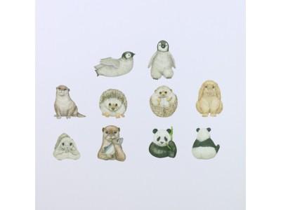 もふもふ、、!パンダやペンギンのかわいいマスキングテープがヴィレヴァンオンラインで取扱い開始!!