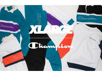 カラーウェイがクセになるXLARGE×Championコラボ最新作