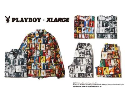 「XLARGE(エクストララージ)」×「PLAYBOY(プレイボーイ)」コラボレーション3月20日(金)発売