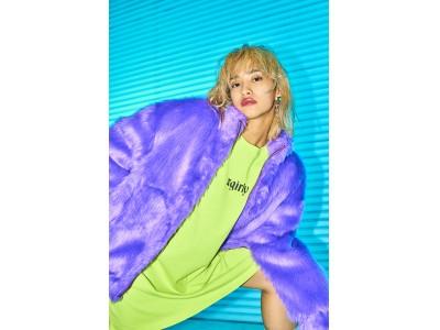 X-girlとE-girls ユリノのコラボレーションが11/30(金)発売
