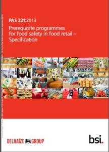食品小売業向けの新たな規格「PAS221」をBSI(英国規格協会)から発行(BSIグループジャパン株式会社 プレスリリース)