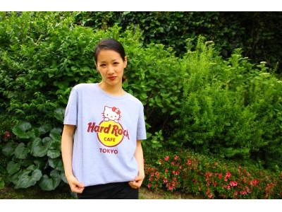 「ハードロックカフェ」×「ハローキティ」コラボレーションTシャツ 販売