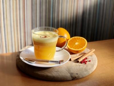 ニューヨークレストラン「サラベス」 冬の期間限定ドリンク『ホットオレンジ ジンジャー』