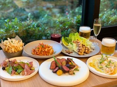 """ニューヨークレストラン「サラベス」東京店/夏の夜、開放的なテラス席で楽しむ""""新しい生活様式""""のビアパーティーを「SUMMER BEER TERRACE」"""