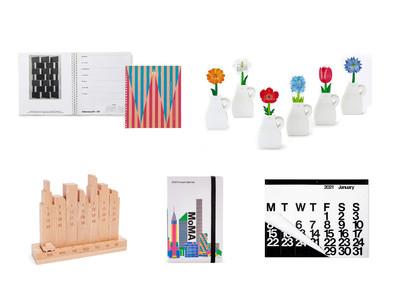 【MoMA Design Store】2021年カレンダー&ダイアリーが入荷