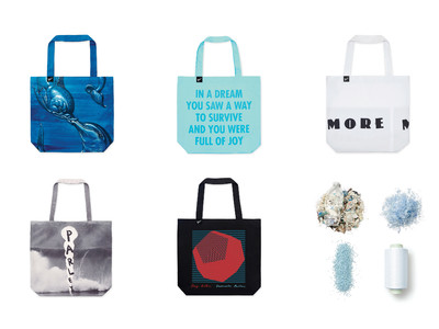 【MoMA Design Store】海洋プラスチックを原料とした、Parley for the Oceans トートバッグコレクションを発売