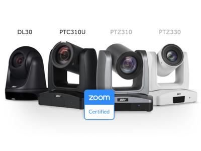 4Kの自動追尾リモートカメラ「PTC310U」および、遠隔教育に最適なPTZウェブカメラ「DL30」の2機種を新発売!