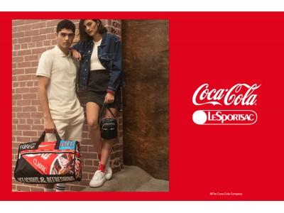 レスポートサックが「コカ・コーラ」とコラボ!ロゴや缶のモチーフを大胆にアレンジしたバッグやポーチを展開。