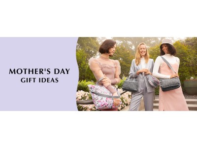 母の日にもおすすめ!軽量で機能的、「レスポートサック」のポーチや財布、デイリー使いに快適なバッグ。