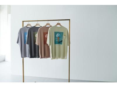 【アンダーソン アンダーソン】ジェラート ピケ オムとの初コラボレーション!特許取得の和紙素材を用いたメンズTシャツが登場