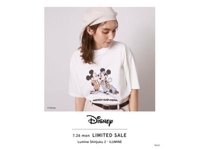 <スナイデル>「Mickey & Minnie」をモチーフにしたコレクションが店舗限定で登場! ルミネ新宿店、ルミネのネット通販 i LUMINE限定アイテムも