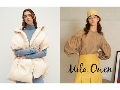 「Mila Owen(ミラ オーウェン)」2021年秋コレクションの全ラインアップをオンラインにて公開