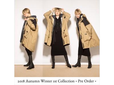 FRAY I.D 2018 Autumn / Winter 1stコレクション先行予約開始!!