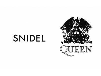 第一弾は即完売!「SNIDEL」と伝説のイギリスロックバンド「QUEEN」のフューチャリングコレクション待望の第二弾、3月1日(金)ついに発売!