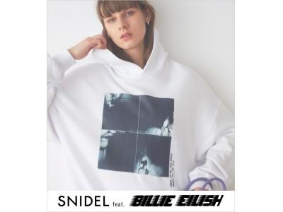 ビリー・アイリッシュとスナイデルのフィーチャリングが実現!『SNIDEL feat. BILLIE EILISH』待望のコレクションが4月17日(金)よりオンラインストアにて先行発売!