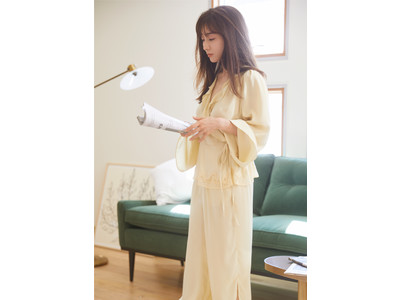 <SNIDEL HOME(スナイデル ホーム)>田中みな実が魅せる新ブランドのデビューコレクション