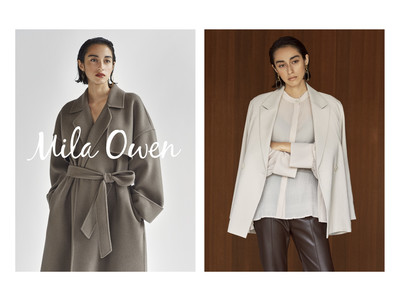 【Mila Owen(ミラ オーウェン)】秋コレクションのデジタルカタログを公開!掲載アイテムがフルラインアップで同時発売