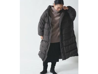 「emmi×金子綾×NANGA」トリプルコラボによるダウンコートを発売!