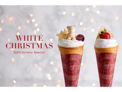 【gelato pique cafe(ジェラート ピケ カフェ)】ショートケーキをイメージした<Holiday Specialクレープ>が新登場!11月16日(月)~12月27日(日)