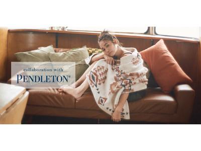【ジェラート ピケ】老舗ファブリックブランド「PENDLETON」とのコラボレーションウェアを発売
