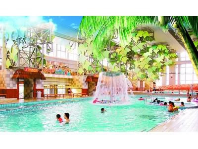 今年もハワイがやってくる大江戸温泉物語『日光霧降』夏の大型屋内温水プール 「日…