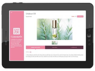 化粧品の海外店舗販売を支援するO2O販促アプリ COSMERIAコンシェルジュをリリース