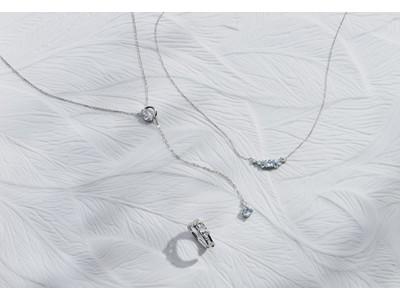 透き通る海と波のきらめきを表現した爽やかな夏ジュエリー Canal 4℃の「Sea Blue Collection」発売