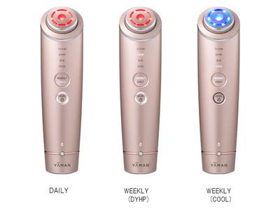 多機能タイプのRF美顔器を使いやすくアップグレード「DAILY」「WEEKLY」シンプル2モードの新モデル登場『フォトプラス シャイニー』新発売
