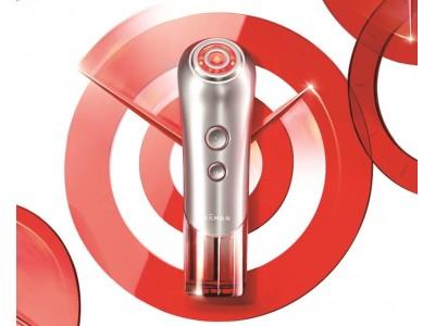 お肌のハリと弾力の実感を追求したRF美顔器シリーズに新モデル登場。RF(ラジオ波)と赤色LEDでより潤い溢れるお肌へ『Bloom Red(ブルーム レッド)』