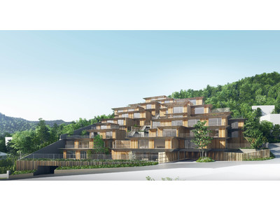 """世界的な建築家""""隈 研吾""""が設計監修、「プロスタイル札幌 宮の森」の物件エントリーを開始"""