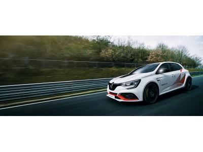 ニュルブルクリンク量産FF車最速*メガーヌ ルノー・スポール トロフィーR発表