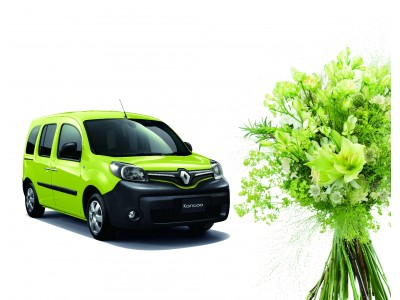 ハーブやグリーンをあしらうフレンチスタイルのブーケをイメージ 限定車 ルノー カングー クルール発売