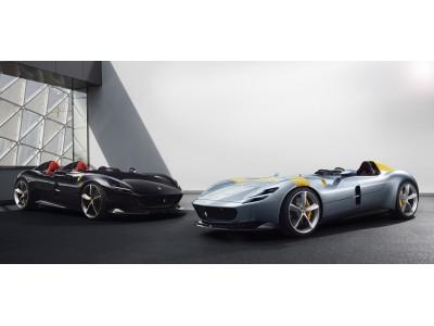 Ferrari Monza SP1 & SP2 発表