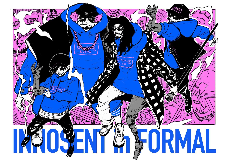 INNOSENT in FORMAL、TVアニメ「池袋ウエストゲートパーク」新ED主題歌「思うまま」MV公開&メジャー1stミニアルバム発売決定!