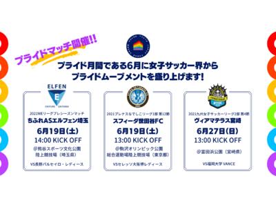 LGBTQ とスポーツを発信するプライドハウス東京が、6月のプライドマンスに、女子サッカー界を起点としてムーブメントを盛り上げ!