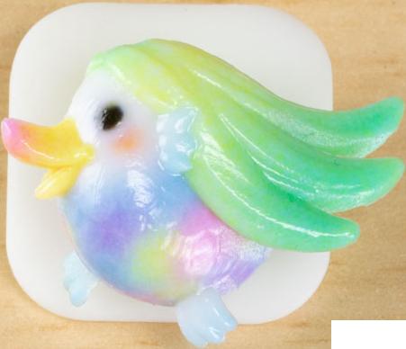 【疫病退散】 コロナウイルス終息を願った、マスクデコレーション「3Dプリント製マスクアクセサリー アマビエ様ver.」を販売開始!! 【ワンポイントチャーム】
