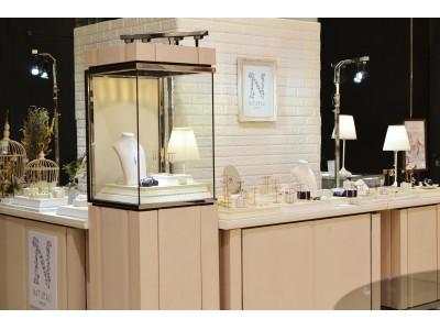 ナチュラリ ジュエリ、新宿高島屋店に長期POP UPショップをオープン