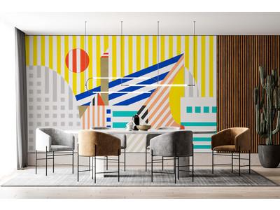 壁紙ブランド「WhO(フ―)」、フランスのブランド「La Touche Originale」をラインナップ。空間が華やぐアーティスティックな36点を初の日本展開
