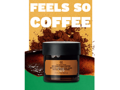 """【新製品】目覚めるようなすっきり肌へ """"コーヒー""""の恵みを取り入れたフェイスマスク「ニカラグアン アウェイキングマスク」2019年5月16日(木)新発売"""