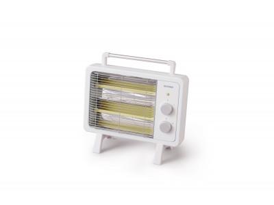 冷えた足元もポカポカに!コンパクトでインテリアに馴染むデザインの「遠赤外線電気ストーブ」2機種を発売