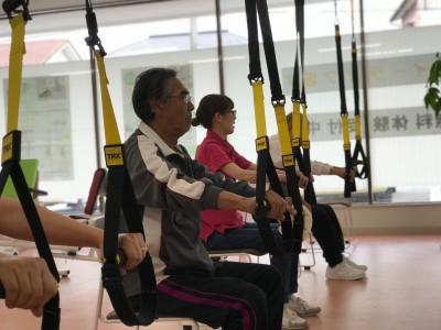 サスペンショントレーニングを活用した介護予防向けエクササイズプログラムが新登場