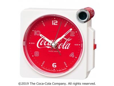 コンパクトサイズでも迫力の大音量! 「コカ・コーラ」の小型目ざまし時計を発売