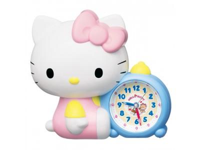 ハローキティのおしゃべり目ざまし時計を発売