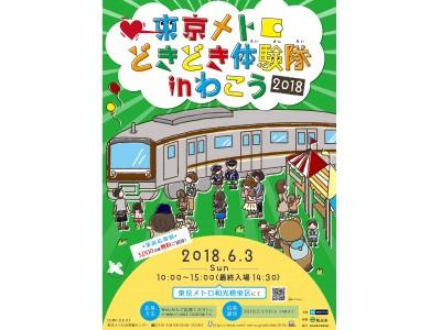 車両基地イベント「東京メトロどきどき体験隊in わこう2018」を開催します!