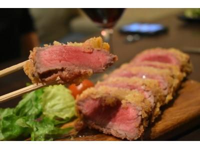 極上赤身の牛カツ食べ放題がたったの1,290円!ヘルシー女子のための肉祭り!